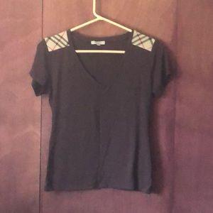 Burberry v neck T-shirt